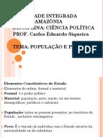 Slides de ciência política