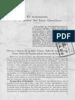 Aurelio Miró Quesada - El Testamento de La Madre Del Inca Garcilaso