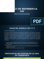 Modelo de Referencia 3 y 4 Osi