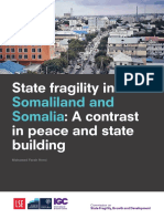 state fragility somaliland and somalia