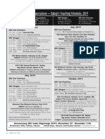 Babaji Bob Kindler's 2019 Schedule