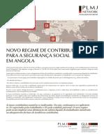 NL Novo Regime de Contribuicoes Para a Seguranca Social Em Angola