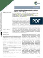 Dendronic trimaltosides
