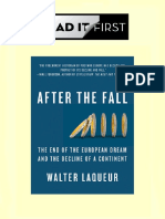 After the Fall the End of the European Dream and the Decline of a Continent