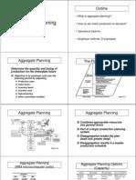8B Aggregate Planning
