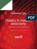 Fluidics in Modern Vitrectomy
