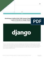 Membangun Aplikasi Mini HRD Dengan Django (7)_ Membuat Laporan Kehadiran Dengan