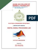 IV EEE II SEM DSP LAB MANUAL(EE481)_1.pdf
