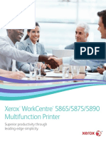 Xerox work center 5890 5875