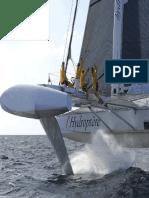 Hydroptere - Foils