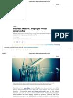 Periódico Retrata 107 Artigos Por 'Revisão Comprometida' _ VEJA.com