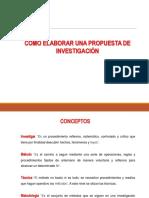 Diapositiva - Propuesta de Investigacion