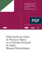 Manual metodologico - Elaboracion GPC en el SNS.pdf