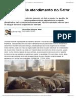 Qualidade de atendimento no Setor Bancário - Artigos - Acadêmico - Administradores.com