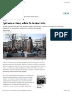 Spinoza o cómo salvar la democracia | Ideas | EL PAÍS