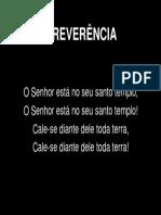 002 REVERÊNCIA