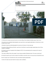 Christchurch Mosque Linked to Al-Qaida Suspect - Newshub.co.nz