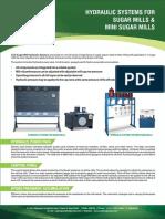 Ace Hydraulic Systems for Sugar Mills