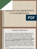 TRABAJO COLABORATIVO Y CO-ENSEÑANZA.ppt