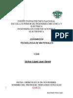 CERÁMICOS TECNOLOGIA DE MATERIALES