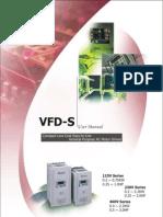 VFD-S Manual