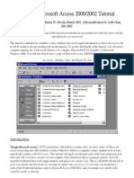 A_Quick_Microsoft_Access_2000_Tutorial