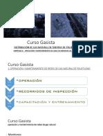 Capitulo 3. Operación y Mantenimiento de g. n. Para El Sistema de Red Secundario