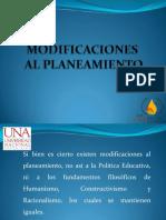 Modificacion al planeamiento Educacion primaria