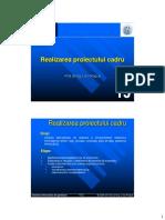 SIG315 - Proiectul cadru