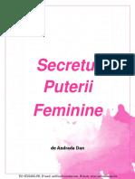 Secretul puterii feminine