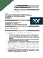 ProgramaSistemasAdministrativos1ºcuatrimestre 2019