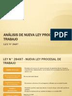 Analisis de La Nueva Ley Procesal de Trabajo