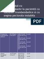 Tratamentul cu anticoagulante la pacientii cu tulburari trombembolice.pptx