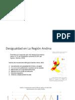 Desigualdad en la región Andina de Colombia