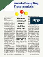 Enviromental Sampling for Trace Analytical
