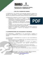 El Importante Papel de La Federación Comunal, Delegados-As y Dignatarios-As