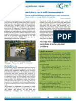 DGMR Article Occupational Noise in the-netherlands