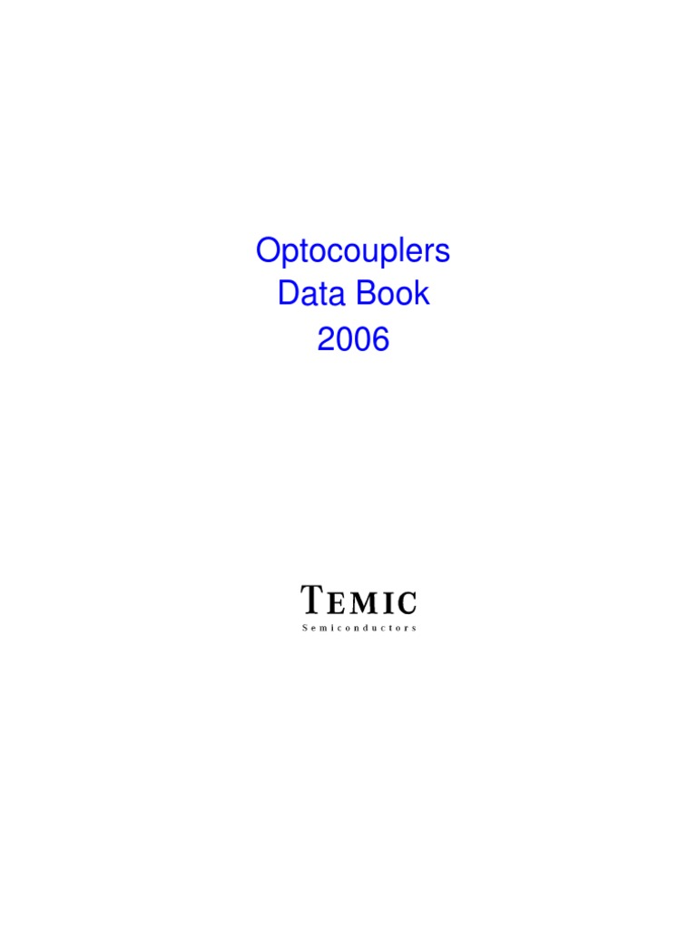 A1 Optocouplers Data Book 2006 Diode Transistor Fo22 Inverter Schematic Diagram Sheet 3 Of