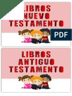 Titulo Libros de La Biblia