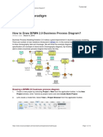 How to Draw BPMN 2.0 Business Process Diagrama