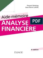 Aide-mémoire Danalyse Financière - 4e Édition