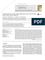 Selecting Dynamic Moving Average Trading Rules in the Crude Oil Futures Market Using a Genetic Approach