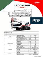 Zoomlion Truck Cranes Spec c6c882