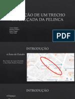 AVALIAÇÃO DE UM TRECHO DA CALÇADA DA PELINCA.pptx