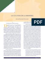 Cultura de la Memoria.pdf