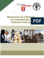 SAGARPA-FAO - Metodología Medición Competitividad.pdf