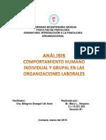 analisis Introducción a la Psicología Organizacional.docx