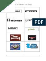 Set de Tarjetas Con Logos