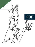 Dibujo la Princesa y El Sapo.docx