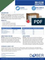 wwa bioclear data sheet